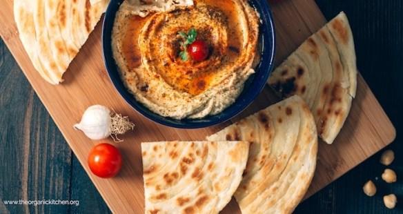Sun Dried Tomato Hummus! #hummus #appetizer #vegan