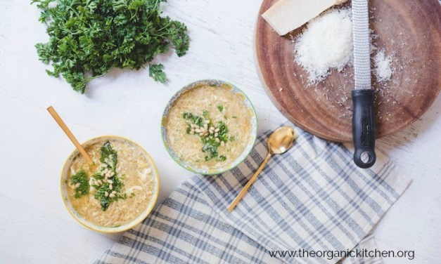 Italian Egg Drop Soup (Stracciatella)