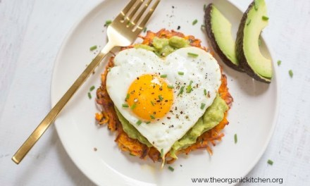 Savory Sweet Potato Fritters with Avocado and Fried Eggs!
