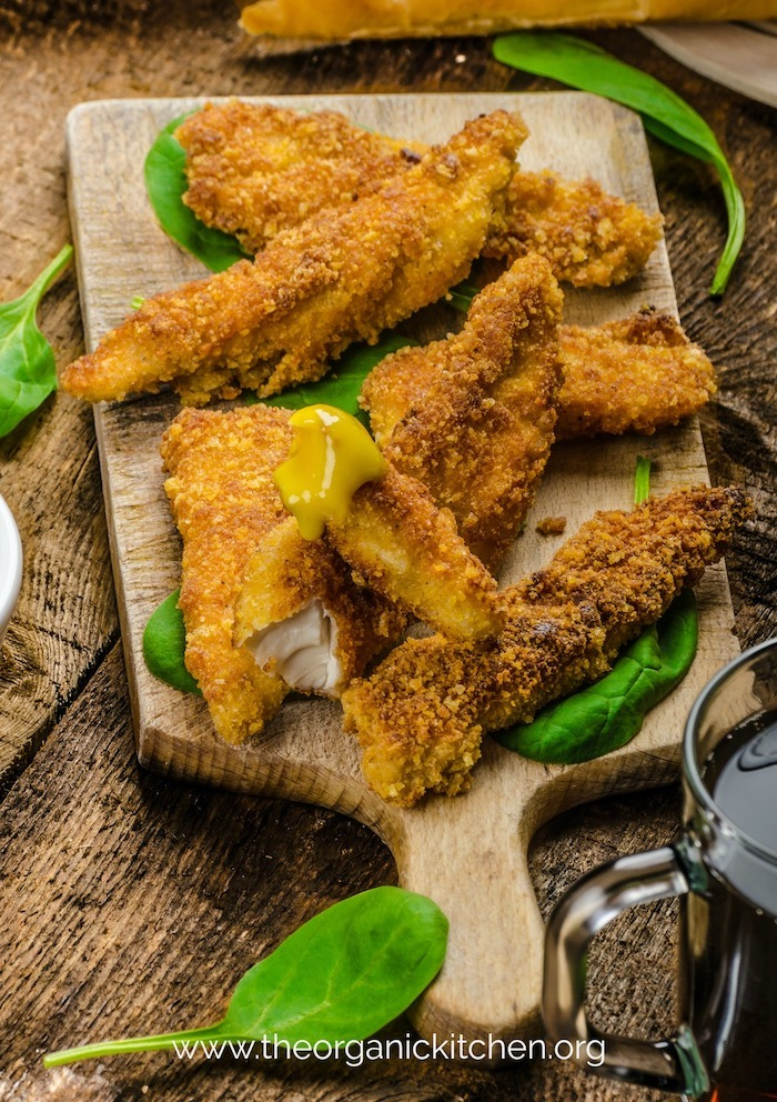 Keto Paleo Whole30 Easy Chicken Tenders