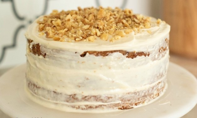 Carrot Cake with Cream Cheese Frosting!