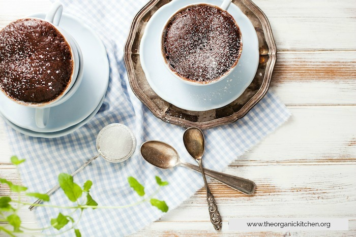 Double Chocolate Mug Cake!