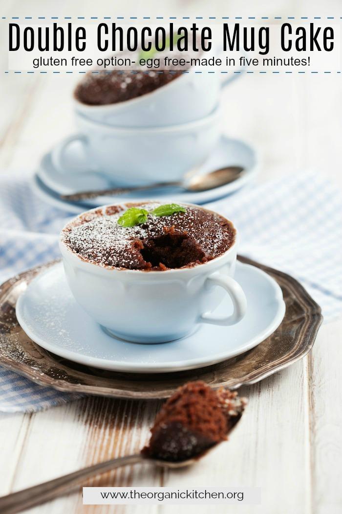 Double Chocolate Mug Cake! #DoubleChocolateMugCake #glutenfreemugcake #eggfreemugcake