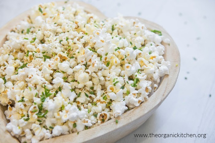 Parmesan Chive Popcorn