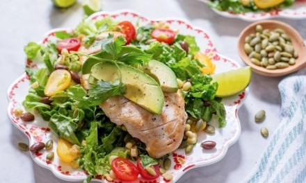 Southwest Chicken Salad with Lime Vinaigrette!