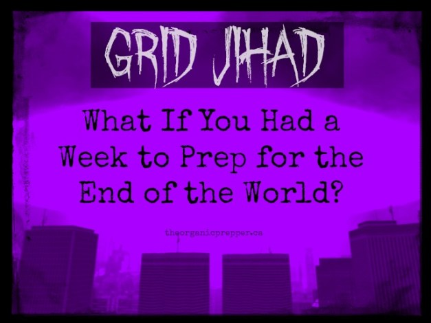 What If You Had a Week to Prep for the End of the World