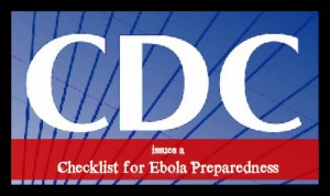 cdc issues a checklist for ebola preparedness