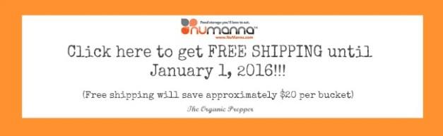 Numanna free shipping