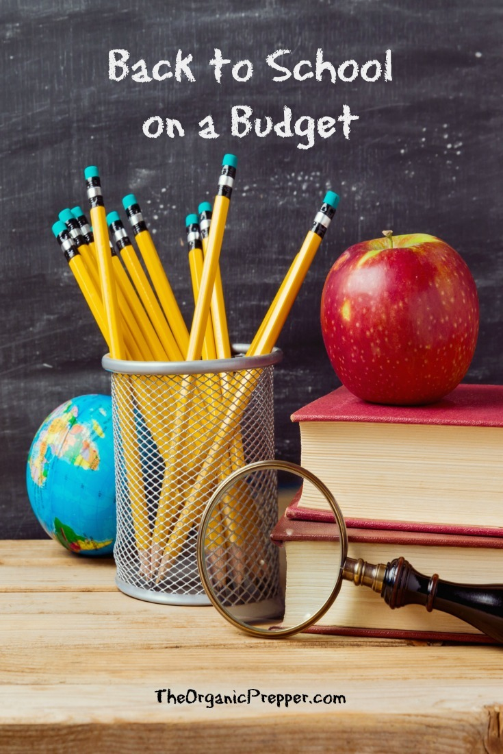 School supply shopping can quickly become a budget-buster. Here are some tips to help you get the most bang for your buck.| The Organic Prepper