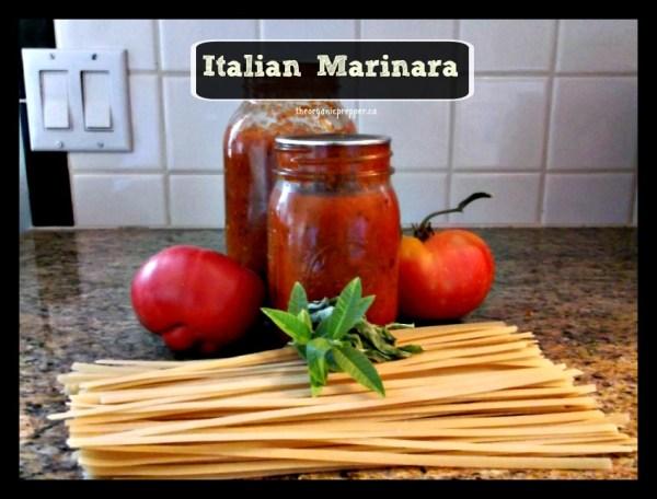 italian marinara