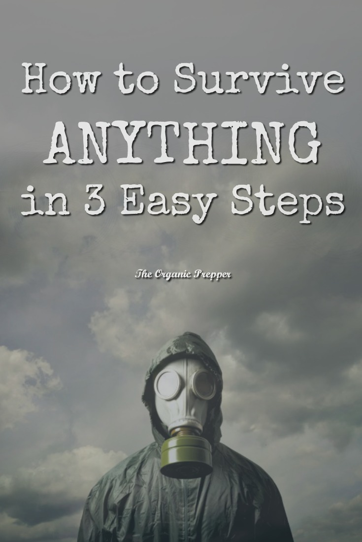 How to Survive ANYTHING in 3 Easy Steps