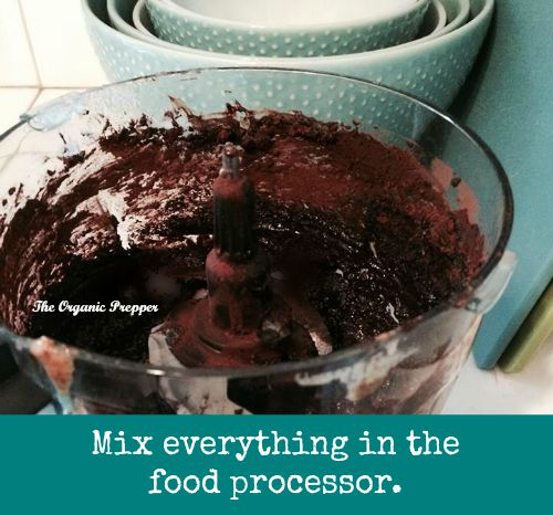 Mix it in the food processor