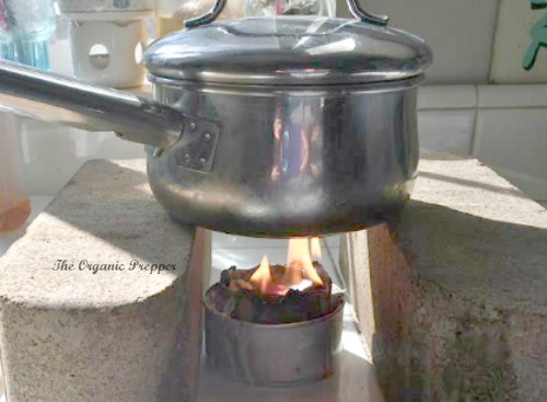 Prepper hack stove