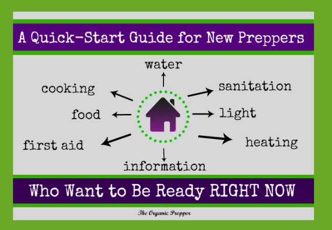 This guide for new preppers will help you when you have that overwhelming urge to get ready RIGHT NOW, without one more second of delay.