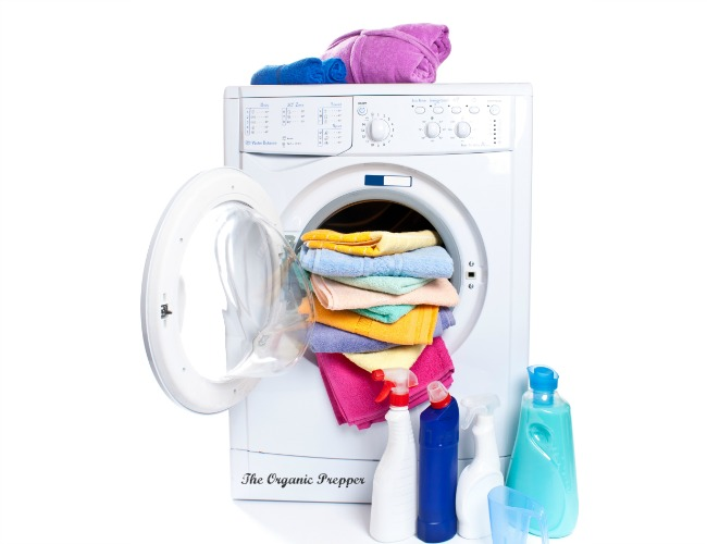 Avoiding toxic laundry products