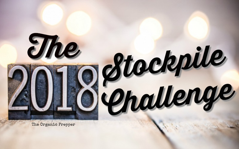 Join us for the 2018 Stockpile Challenge. This month, see if you can get by with only the food that you have on hand. Trust me, you\'ll learn a lot!