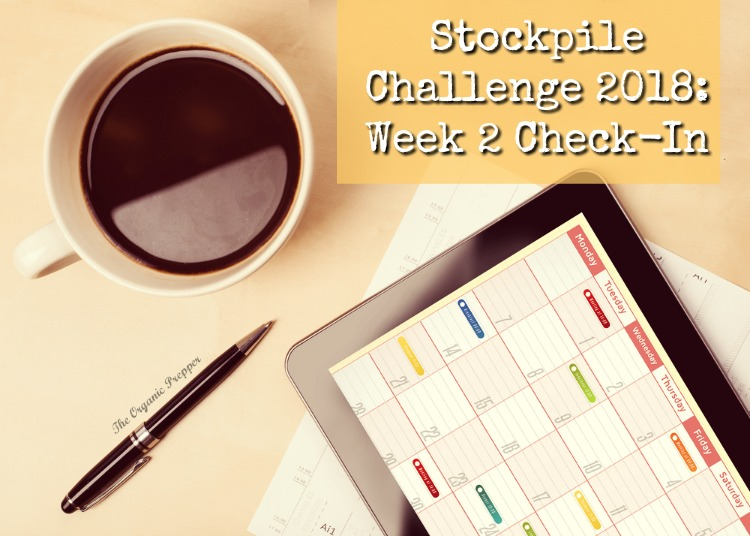 Stockpile Challenge 2018: Week 2 Check-In