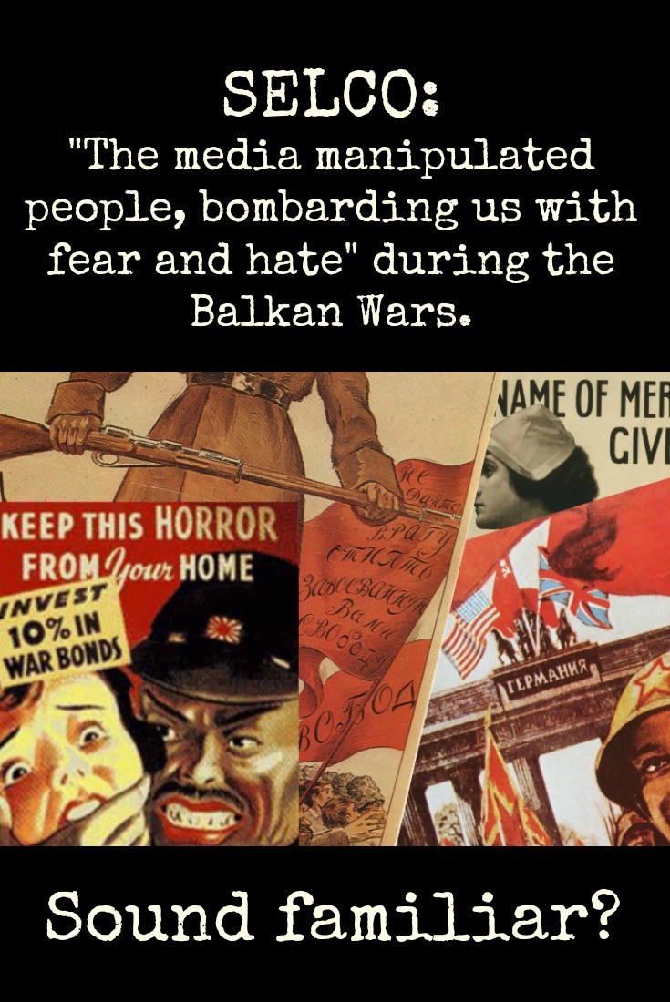 Selco shares how the media manipulated the population of the Balkans with hatred and fear. Don\'t let yourself be manipulated by half-truths and hate-mongering.   The Organic Prepper