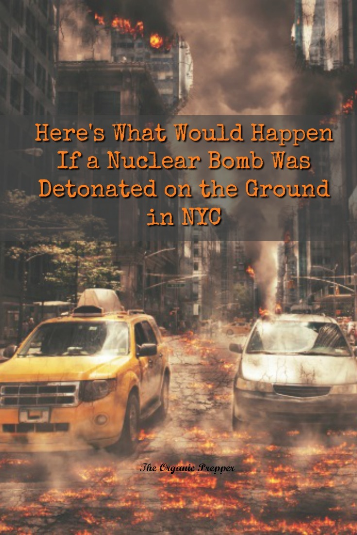What if a nuclear attack didn't come from a missile but was detonated on the ground in a busy city? Here's what that might look like - and how to protect yourself.
