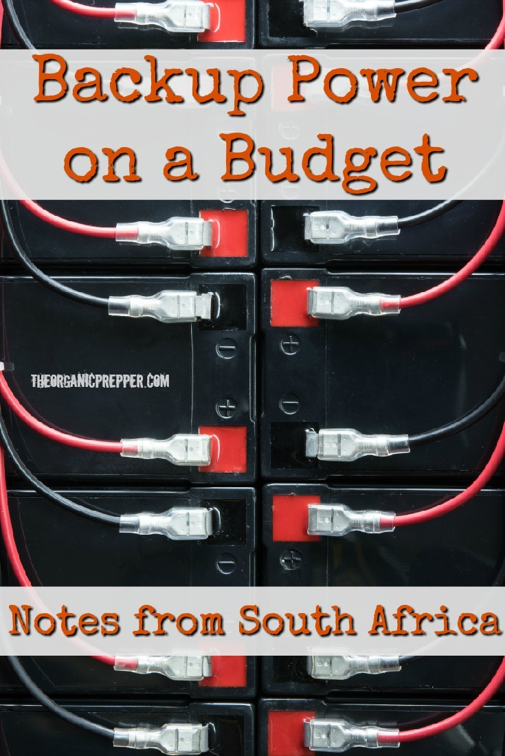 A reader from South Africa shares some tips for using generators and backup power that have made it easier to deal with the continuous rolling blackouts there. | The Organic Prepper