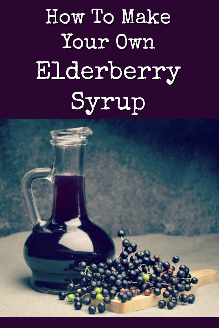 It\'s easy and inexpensive to make a natural remedy that is scientifically proven to reduce the duration of the flu or a cold. Here\'s how to make elderberry syrup. | The Organic Prepper
