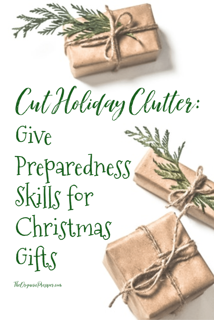 Cut the holiday clutter this year and give skills and experiences as Christmas gifts to the people you love. Check out all these great ideas!