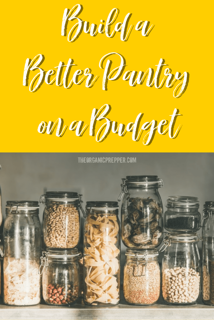 How to Build a Pantry on a Budget