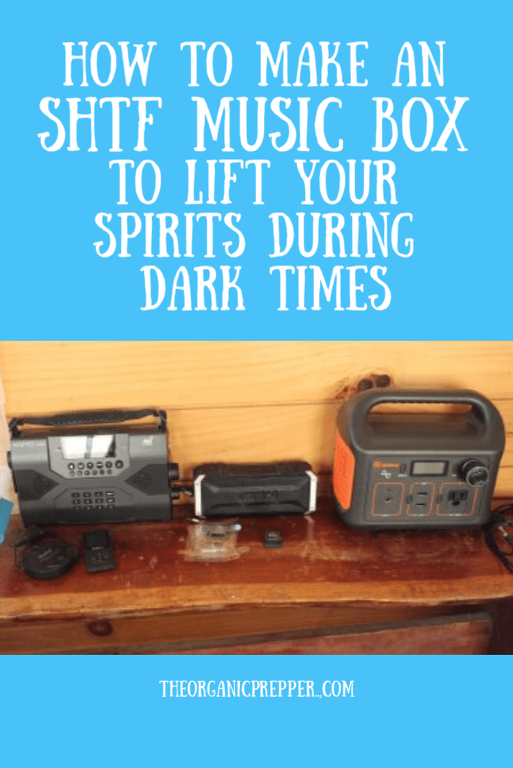 Don\'t overlook the power of music during difficult times. Here\'s how to create an SHTF music box so you can be assured of having your favorite songs.