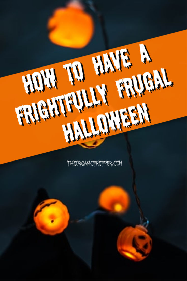 Do you know what\'s really scary about Halloween? How much money people spend on it. It doesn\'t have to be that way with these frightfully frugal tips! | The Organic Prepper