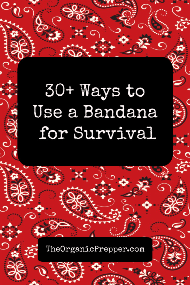 One of the most useful pieces of kit you can keep with you pretty much at all times is a bandana. It has so many uses that I thought I\'d just make a list for you but several of these could be their own article.