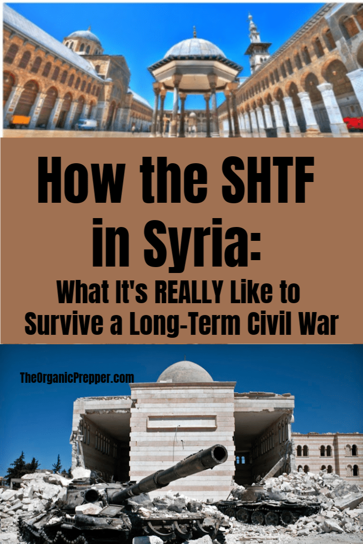 Before the war, Syria was clean and modern - nothing like the ruins you see today. Eyewitnesses share what it\'s really like to live through the long-term civil war that has devastated the country. | The Organic Prepper