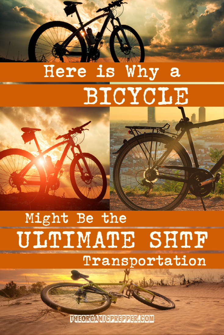 Here\'s Why a Bicycle Might the Ultimate SHTF Transportation