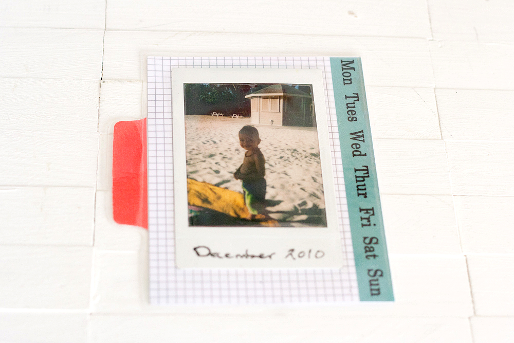 How to Make A Photo Card for Your Planner
