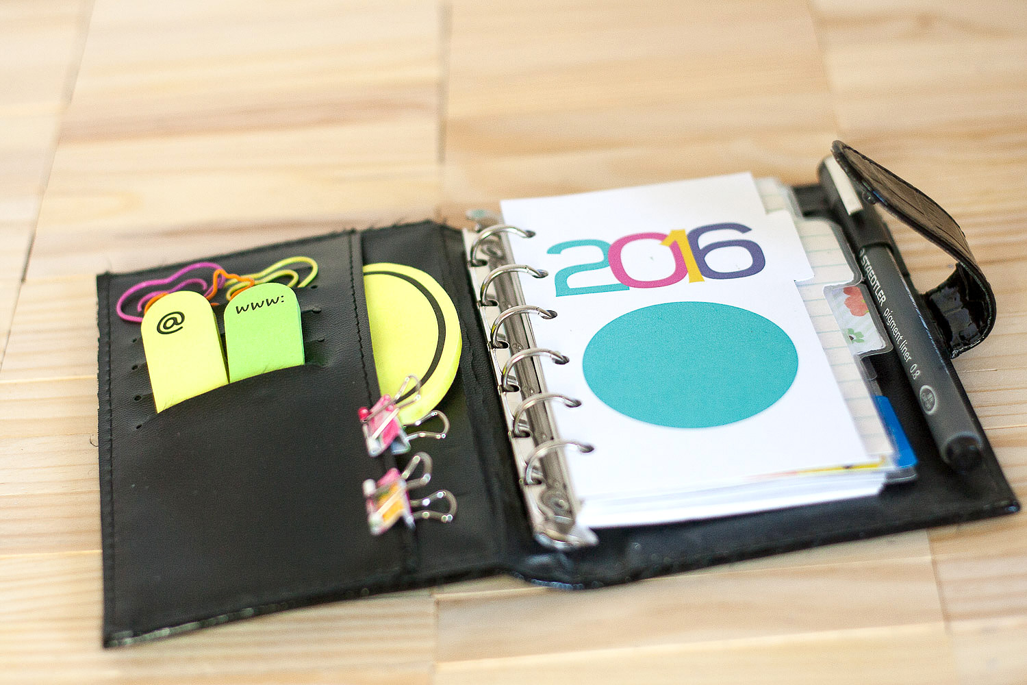 Quick Craft | Make Easy Dividers for Your Planner