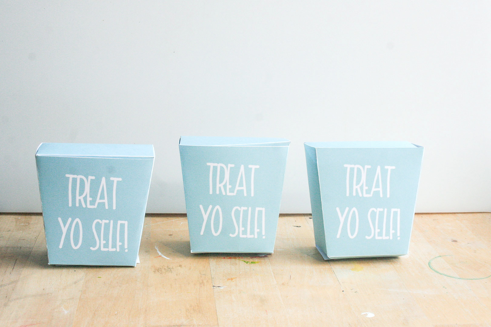 Friday Freebie | Printable Treat Yo Self Treat Box