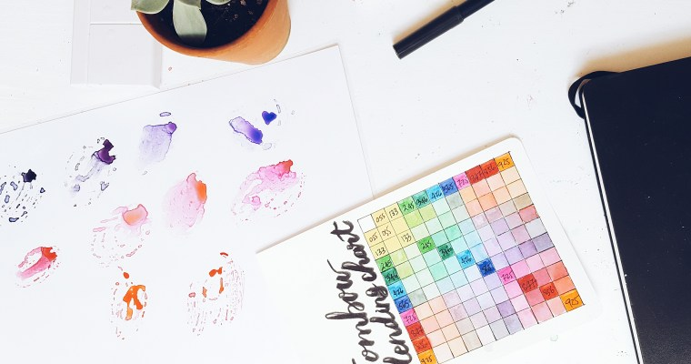 DIY | Make a Blending Palette for Watercolour Markers