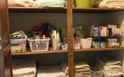 My Parent's Linen Closet…The Reveal