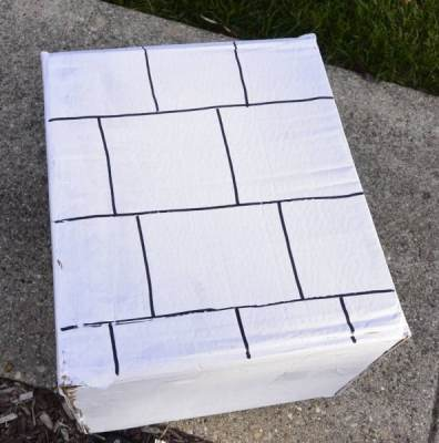 Making Boxes Look Like Bricks
