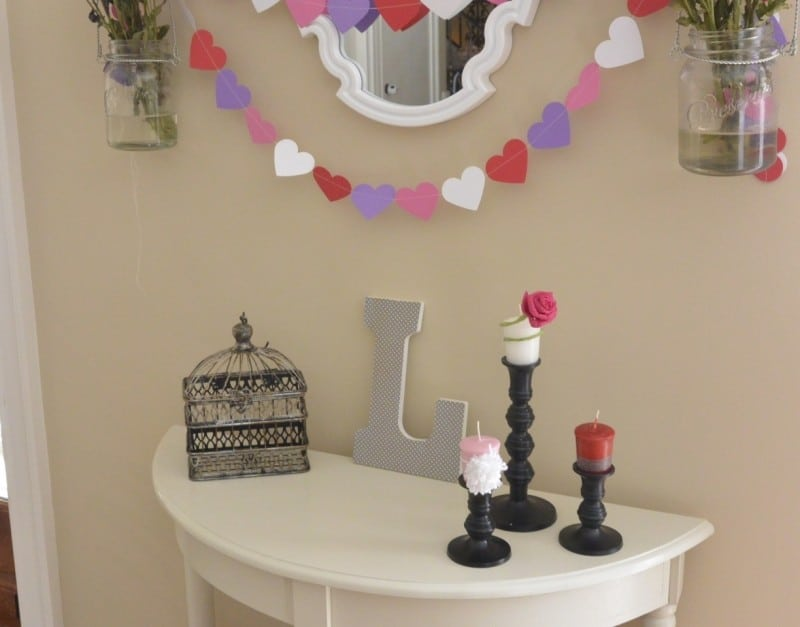 Decorating The Home For Valentine's Day