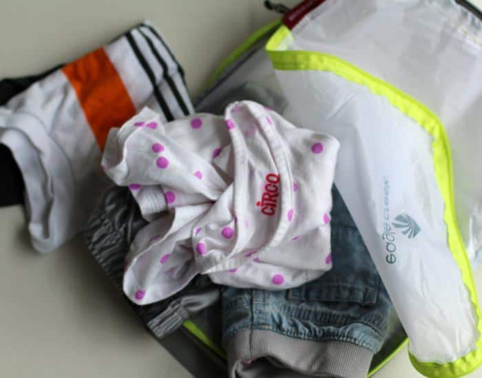 Keeping Your Car Organized With Kids - Storing Extra Clothes