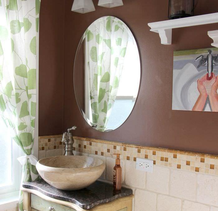 Going Neutral In The Powder Room