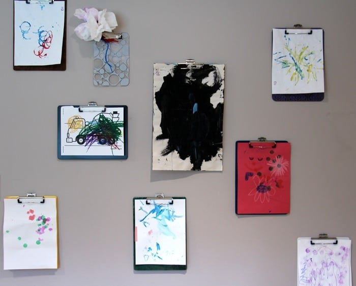 Creating A Clipboard Wall