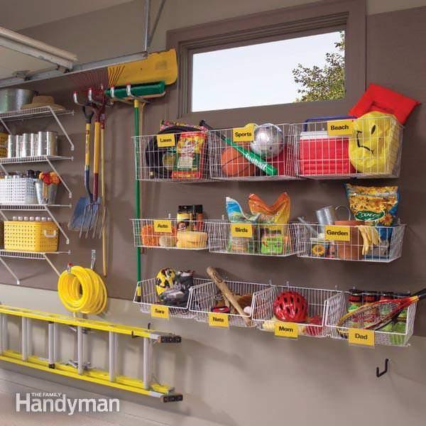 Organizing Garage - Family Handyman