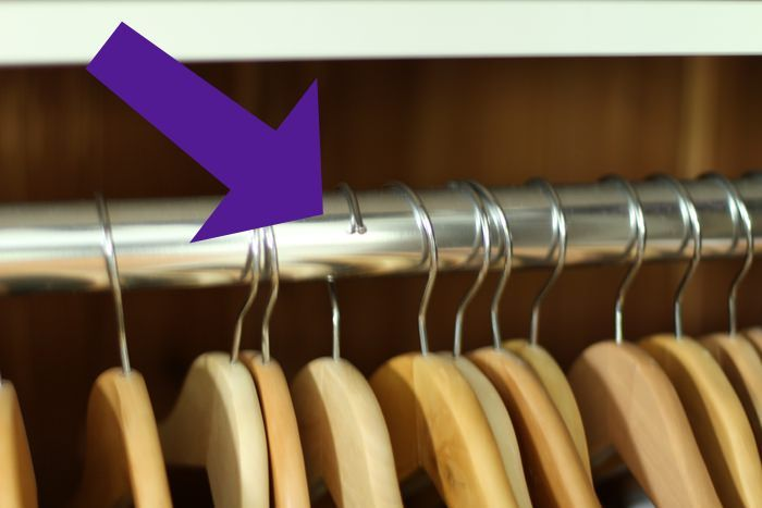 Organizing Our Master Closet - Hangers