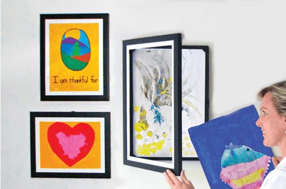 Storing Children's Artwork - Lil Davinci Kid Art Frames