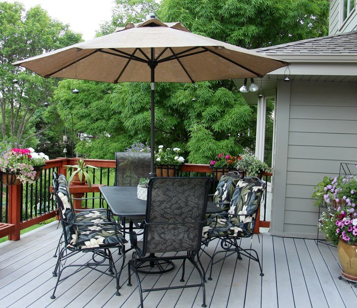 Setting Up A Patio - Deck