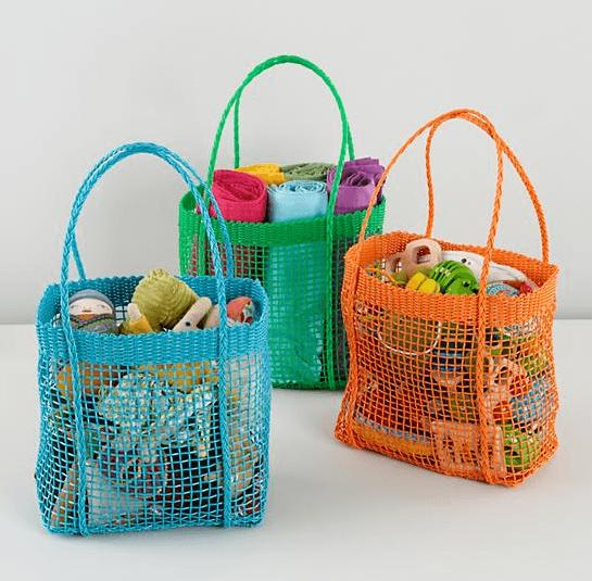 Beach Toy Storage - Open Beach Bag