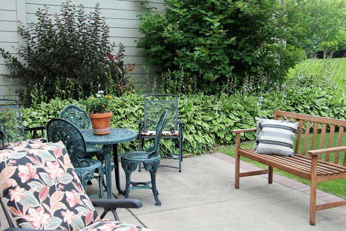 Setting Up A Patio - Patio