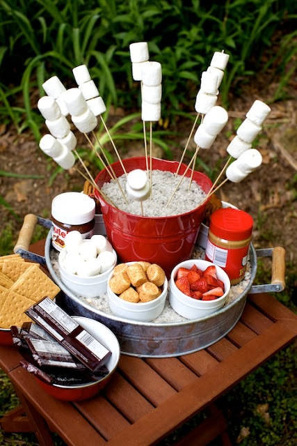 Fourth Of July Ideas - Smore Station