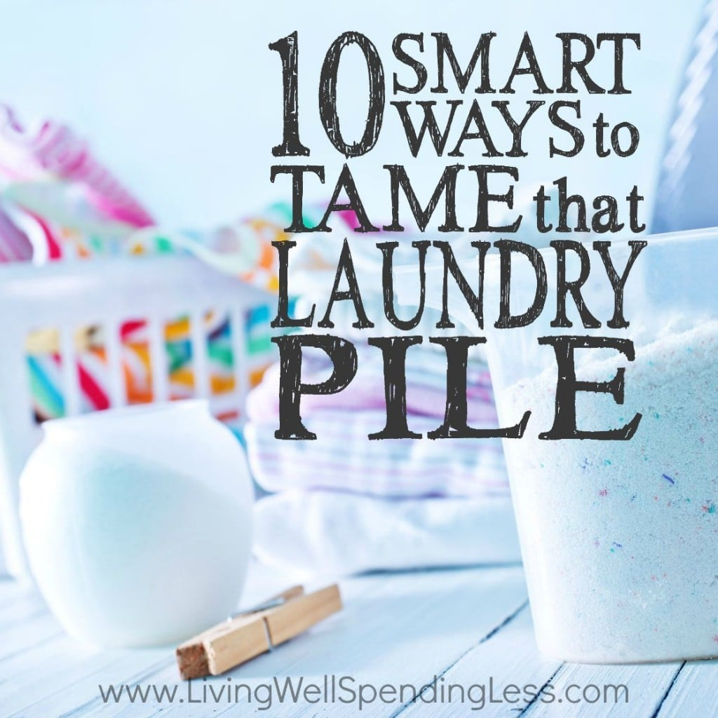 Laundry Round-Up - 10 Ways to Tame Laundry